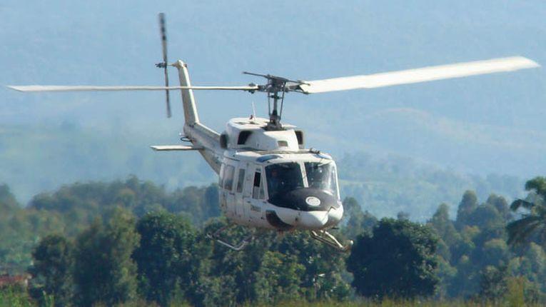 Atacaron helicóptero uruguayo en Congo, todos a salvo