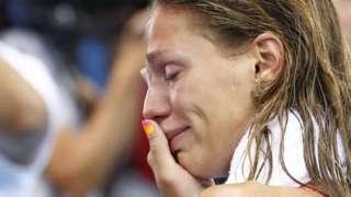 Abucheo a la nadadora rusa Yulia Efimova desata polémica en las Olimpiadas de Río