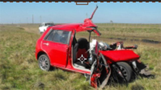 Padre e hijo murieron en un accidente en ruta 31