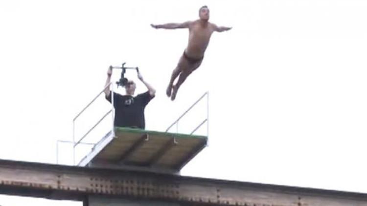 Un deportista esloveno fallece al realizar un salto desde un puente