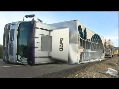 Un camión barométrica explota en pleno Moscú