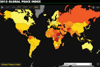 Uruguay entre los países más pacíficos de América Latina