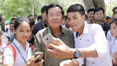 Acusan a primer ministro de Camboya de tener seguidores falsos en Facebook