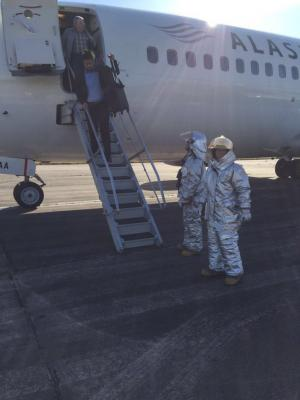 Activó protocolo antibomba en Aeropuerto de Carrasco porque confundió a judíos ortodoxos con terroristas