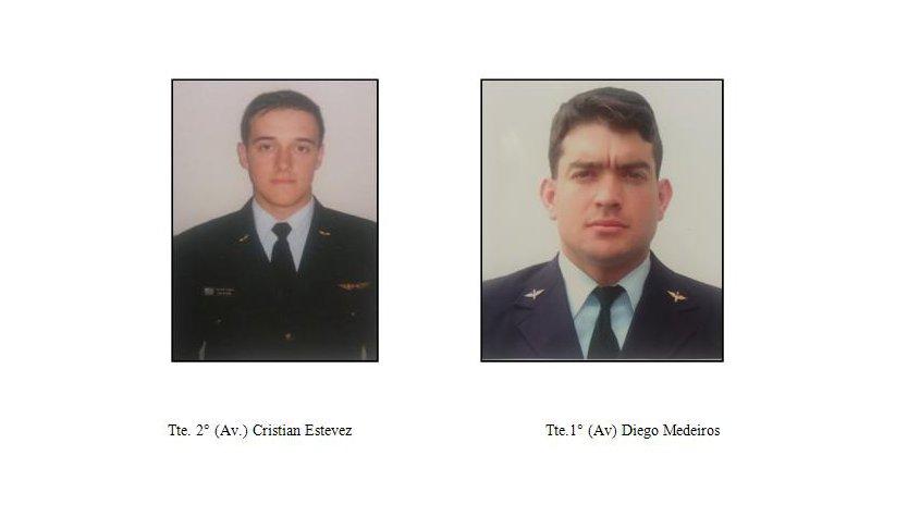 Dos pilotos murieron al estrellarse avión de la Fuerza Aérea en Durazno