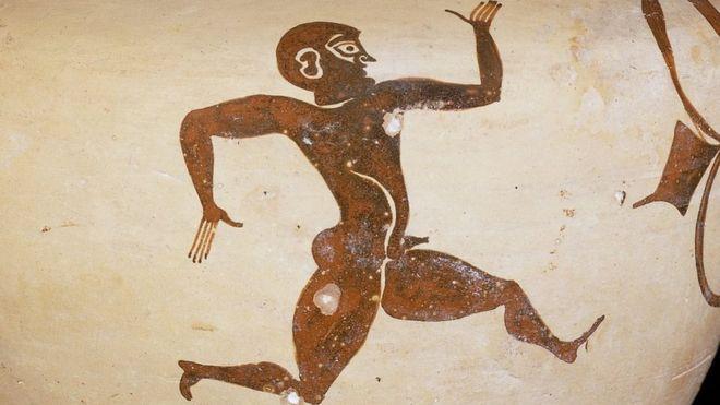 """""""Tenía la velocidad de un Dios""""...Leonidas de Rodas, el atleta de hace más de 2.000 años superado por Michael Phelps"""