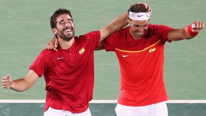 Nadal y López ganan medalla de oro para España en las Olimpiadas de Río 2016