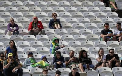¿Dónde está el público? Río no soluciona el problema de los asientos vacíos