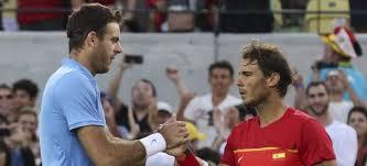 Nadal pierde con Del Potro y peleará por el bronce con Nishikori