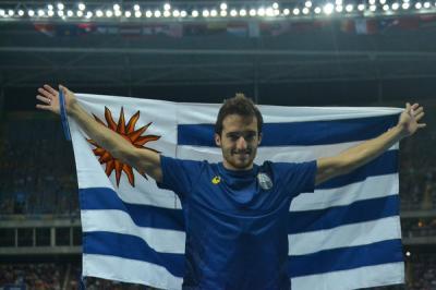 Uruguayo Lasa gana un diploma por sexto puesto en salto largo en Río
