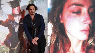 Ex esposa de Johnny Depp muestra agresividad del actor a través de video