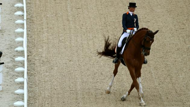 La amazona que renunció a competir por salvar la vida de su caballo