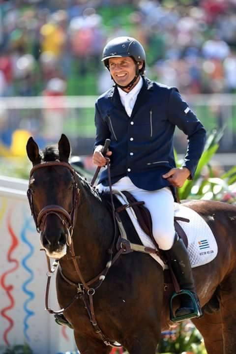 Buen debut de Nielsen en la equitación de los Juegos de Río