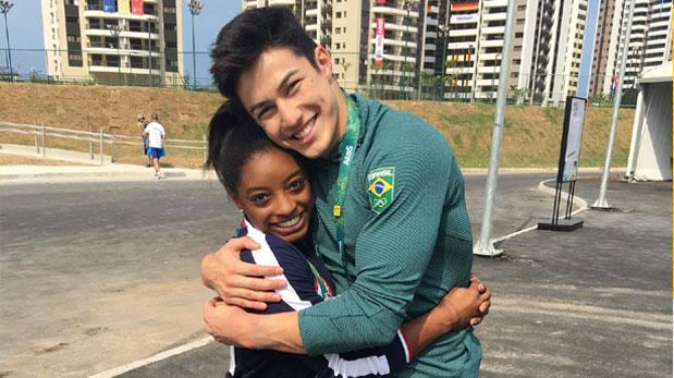 Simone Biles encontró el amor en los Juegos Olímpicos
