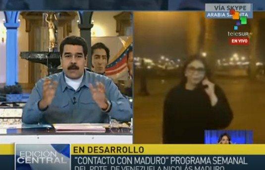"""Maduro: """"Agradezco al pueblo uruguayo por toda la fuerza moral que ha demostrado"""""""