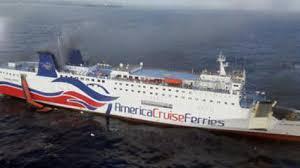 Rescatan a 500 personas de un crucero en llamas cerca de Puerto Rico