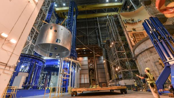 Así construye la NASA el cohete más poderoso de la historia
