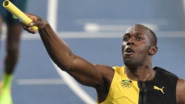 """Bolt completa en Río 2016 el """"triple-triple"""", la cuenta perfecta de 9 oros en 3 olimpiadas al ganar el 4x100 con Jamaica"""