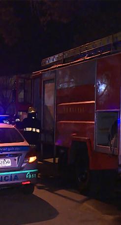 Evacúan a 20 personas por incendio en residencial en La Blanqueada