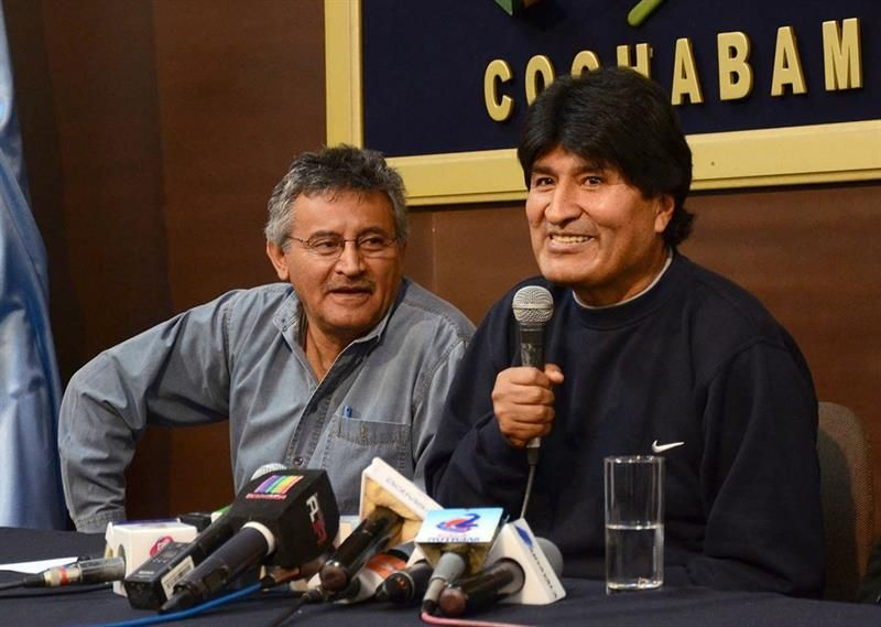 """Evo Morales dice que de nuevo ha derrotado un """"golpe de Estado"""" en Bolivia"""