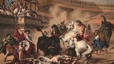 La verdad sobre los gladiadores; nada que ver con lo que muestra Hollywood