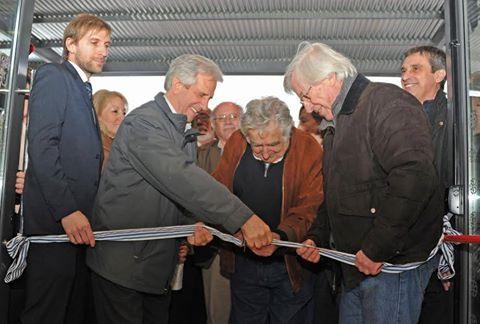 La UTEC fue inaugurada en Fray Bentos por Vázquez y Mujica