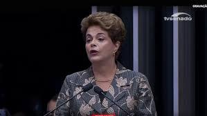 """Dilma cara a cara con los senadores: """"No esperen de mí el silencio de los cobardes"""""""