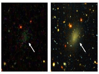 Encuentran una 'Vía Láctea' oscura y no pueden explicar cómo se ha podido formar