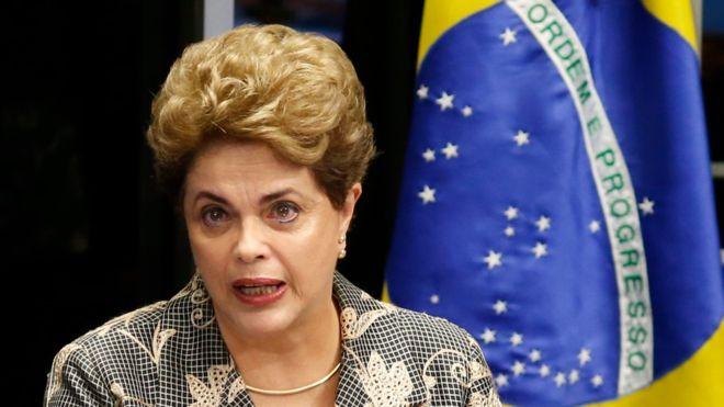 """""""Estamos a un paso de concretar un verdadero golpe de Estado"""": Dilma Rousseff se defiende del juicio político en Brasil"""