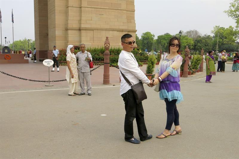 El Gobierno indio recomienda a las turistas no vestir falda