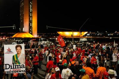 Miles salieron a las calles en Brasil en apoyo de Dilma Rousseff