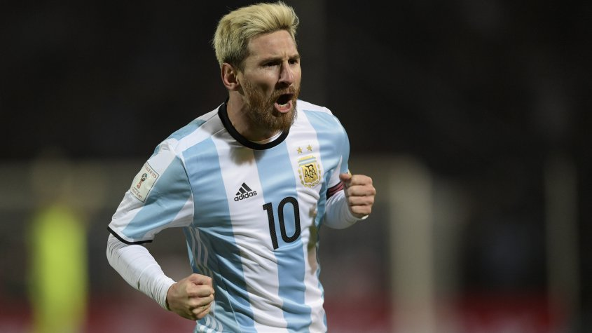 Argentina derrotó a Uruguay 1 a 0 por la Emiminatorias