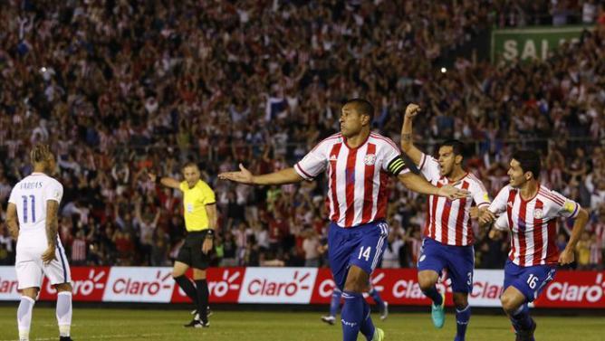 En explosivo inicio Paraguay derrotó a Chile