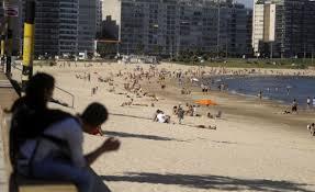 Primavera en Uruguay tendrá temperaturas de verano