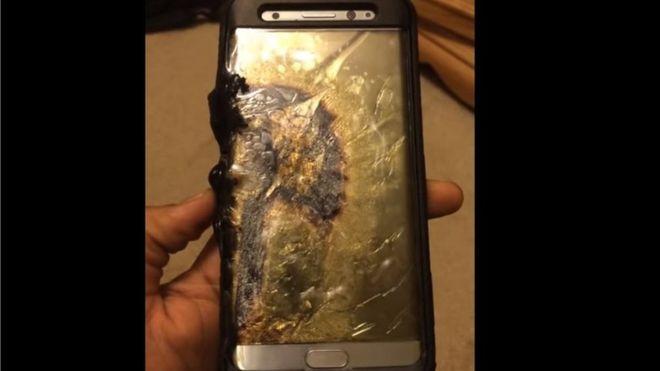 """Samsung suspende ventas del teléfono Galaxy Note 7 por """"explosiones"""" de sus baterías"""