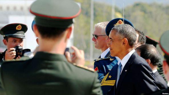 Obama humillado en China
