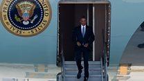 Nada de mimos....China no le puso alfombra roja a Barack Obama