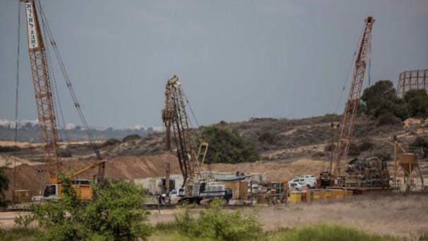 Israel construye un muro subterráneo para evitar filtraciones de Hamás